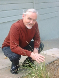 Peter and native grass